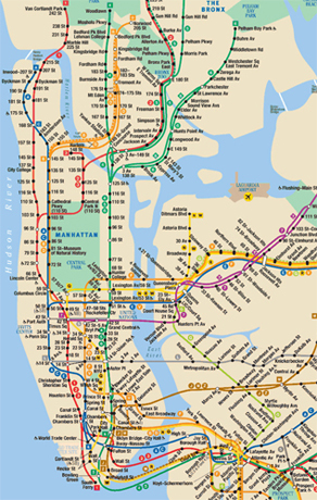 Mapa De New York.Mapas De Nueva York